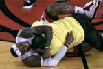 Abrazo LeBron James